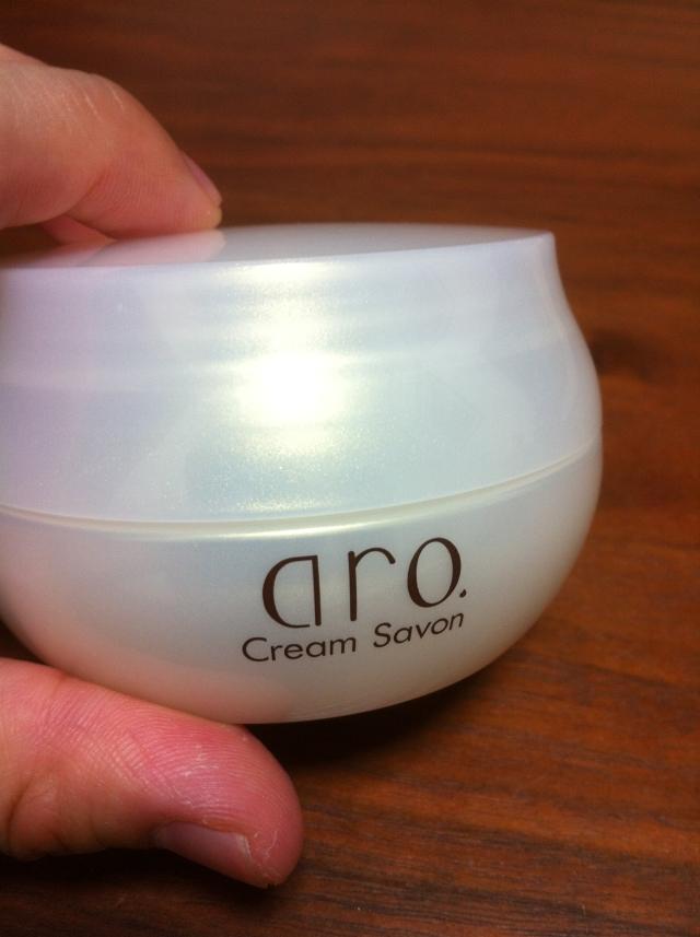 洗顔料「aro.クリムサボン」を使って毎日の洗顔を楽しめるように!レビューです。