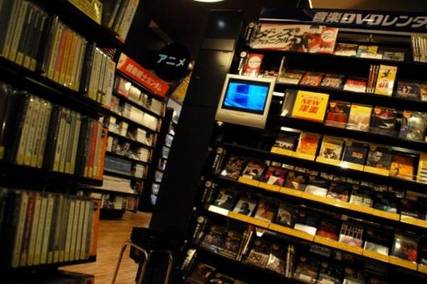 DVDのレンタル